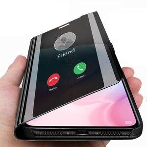Умный зеркальный флип-чехол для Xiaomi mi 9 lite light 9 lite 9se 9t pro, чехол с подставкой для xiaomi ksiomi xiomi mi9 mi9lite mi9t mi 9