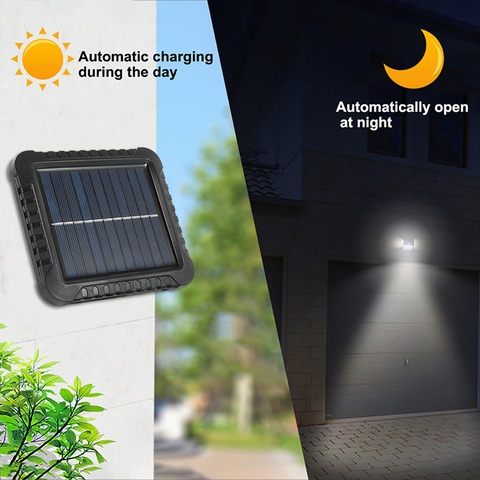 solar ao ar livre jardim luz pir