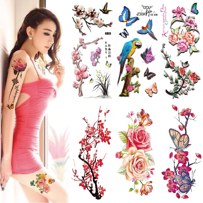 Large Temporary Tattoo Arm Body Art