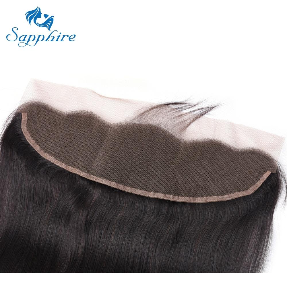 H621b4e2cc7b04c5090e083a096c70047n Sapphire Straight Hair Frontal With Bundles Human Hair Bundles With Frontal Brazilian Hair Weave Bundles With Closure Frontal