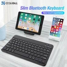 Coolreall لوحة المفاتيح اللاسلكية ل IOS باد أندرويد اللوحي ويندوز بلوتوث لوحة المفاتيح باد بلوتوث لوحة المفاتيح آيفون سامسونج