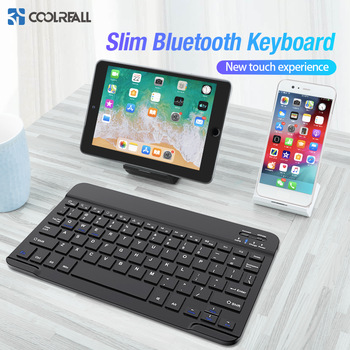 цена на Coolreall Wireless Keyboard For IOS Ipad Android Tablet PC Windows Bluetooth Keyboard Ipad Bluetooth Keyboard For iPhone Samsung