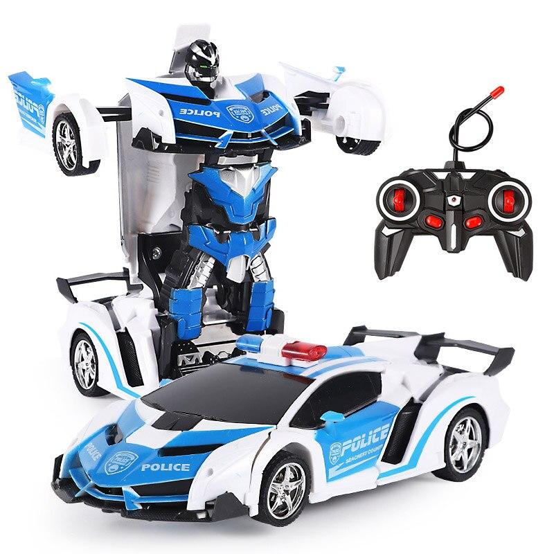 26 Stijlen Rc Auto Transformatie Robots Sport Voertuig Model Robots Speelgoed Remote Cool Rc Vervorming Auto Kinderen Speelgoed Geschenken Voor jongens 3