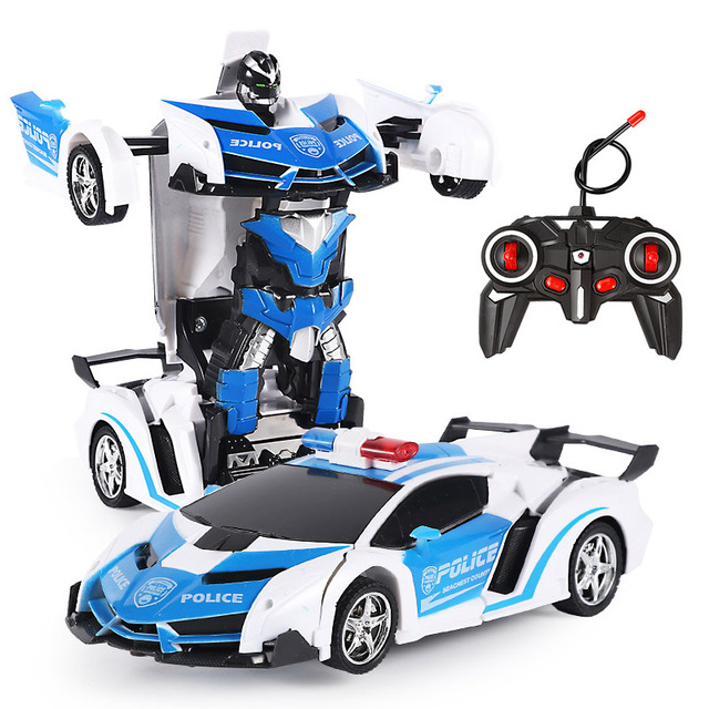26 Styles RC Car Transformation Robots Sports Vehicle Model Robots Toys Remote Cool RC Deformation Cars Kids Toys Gifts For Boys 3