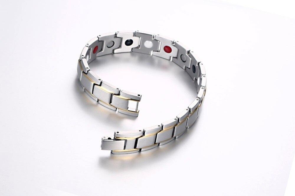 Mens magnetic bracelet 18