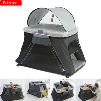 Baby crib Baby Game bed Portable Foldable Bebe Accessories Baby Bed Lightweight Children's Play Bed Travel Crib baby game bed baby crib portable foldable baby accessories baby bed lightweight portable children s play bed travel bed