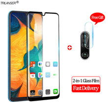 2-in-1 Camera Glass For Samsung A30 A20 Screen Protector Protective Galaxy A50 Tempered samsung a50