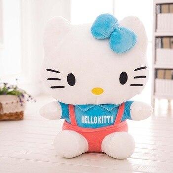 Peluche hello kitty salopette
