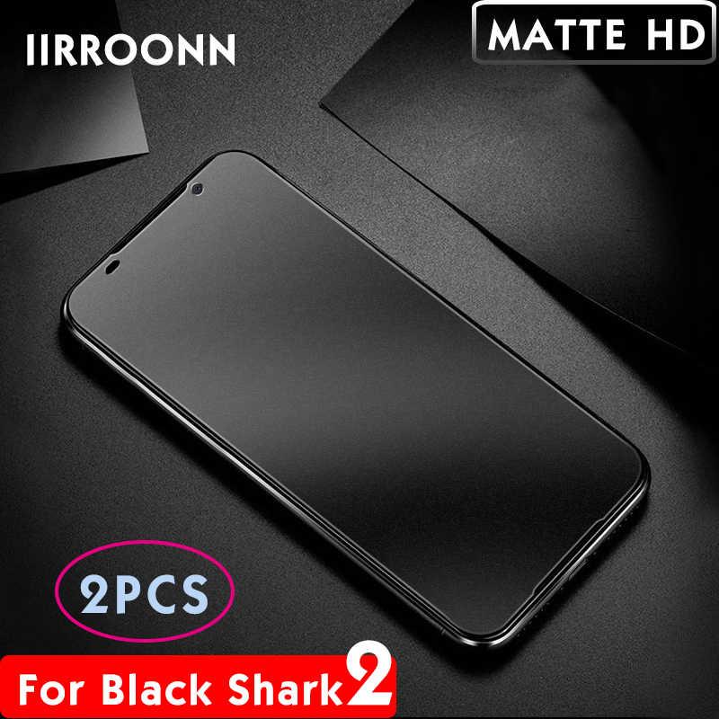 2 Teile/los Matte Gehärtetem Glas Für Xiaomi Schwarz Shark 1 2 3 pro Screen Protector für Schwarz Shark 3pro Schutzhülle glas (4 Arten)