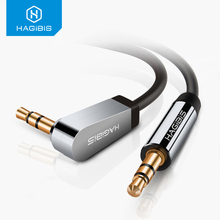 Hagibis 3.5mm Jack Audio Cable Gold Plated plug Male to Male 3.5mm Aux Cable For Car iPhone MP3/MP4 Headphone Speaker PC laptop цена и фото