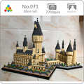 YZ 071 World Famous Architettura Medievale Castello Collegio 3D Modello 7750pcs FAI DA TE Mini Blocchi di Diamante Mattoni Building Giocattolo no box