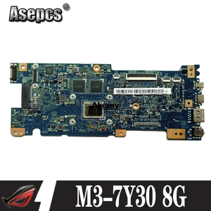 Akemy UX330CAK материнская плата для ноутбука W/M3-7Y30 8G RAM для For Asus UX330CAK UX330CA UX330C Mianboard