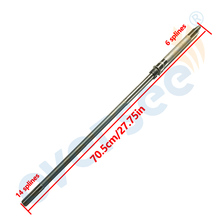 Powertec T40FWS SHAFT 40HP