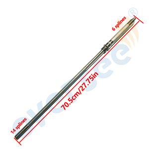 66T-45501-01 Driver Shaft (S) For Yamaha Parsun Powertec Hidea 40HP 40X Outboard Engine,Boat Motor HDX Parts 66T-45501 T40FWS(China)