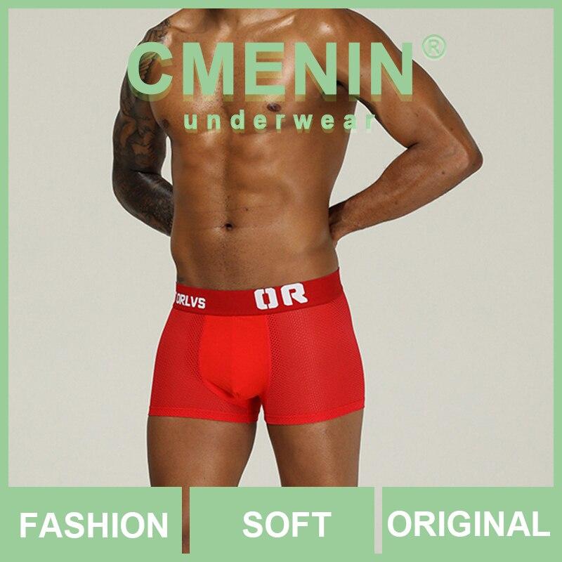 New Arrival Cotton Boxer Men Underware Boxers Letter Soft Sexy Mens Underwear Boxershorts Penis Underpants OR207