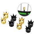4 шт. колпачки для велосипедных клапанов в форме короны  колпачки для велосипедных воздушных клапанов  колпачки для шин  пылезащитные крышки...