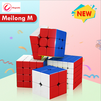 MoYu Meilong M Magnetic Version 3x3x3 2x2x2 4x4x4 Magic Cube Toy Magnetic Cubing Classroom M Speed Puzzle Toys Educational Toy