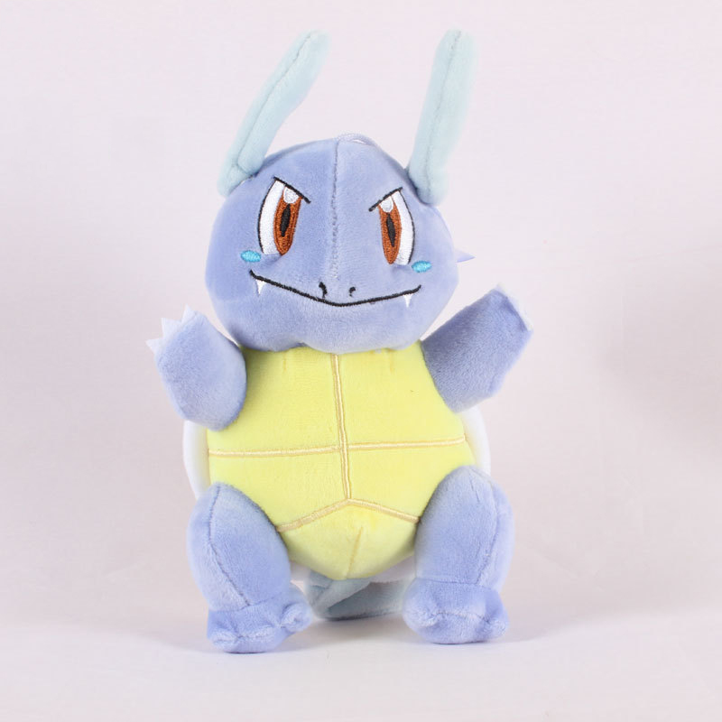 1pcs 23cm Wartortle Plush Toys Doll Wartortle Plush Pendant Soft Stuffed Toys For Children Kids Birthday Christmas Gift