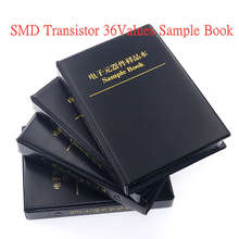 900Pcs SMD Chip Transistor Assortment Kit 36Values x 25pcs Assorted Sample Book
