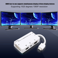 HD 4 in 1 Display Converter for TV Projectors with HDMI/VGA/DVI Ports NK Shopping