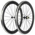SUPERTEAM 700C 60 мм Углеродные колеса Сплав тормозная поверхность колесная пара дорожного велосипеда