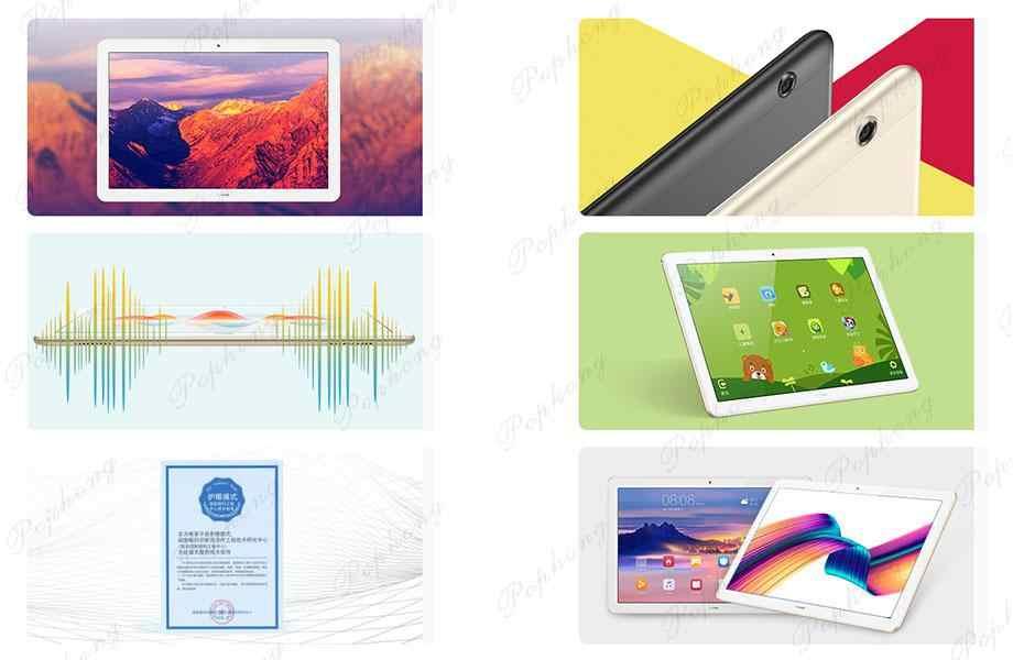 Huawei Mediapad tadını çıkarın Tablet 10.1 ''ağ çağrı sürümü Android 8.0 Octa çekirdek çift kamera desteği GPS OTG Tablet PC