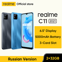 [World Premiere In Stock] realme C11 2021 NFC Global Russian Version 2GB RAM 32GB ROM 6.5 1