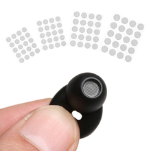 20 pçs auto aderir profissional fone de ouvido poeira rede escudo malha de aço filtro tela 4mm 4.2mm 4.7mm 5mm fone de ouvido acessórios