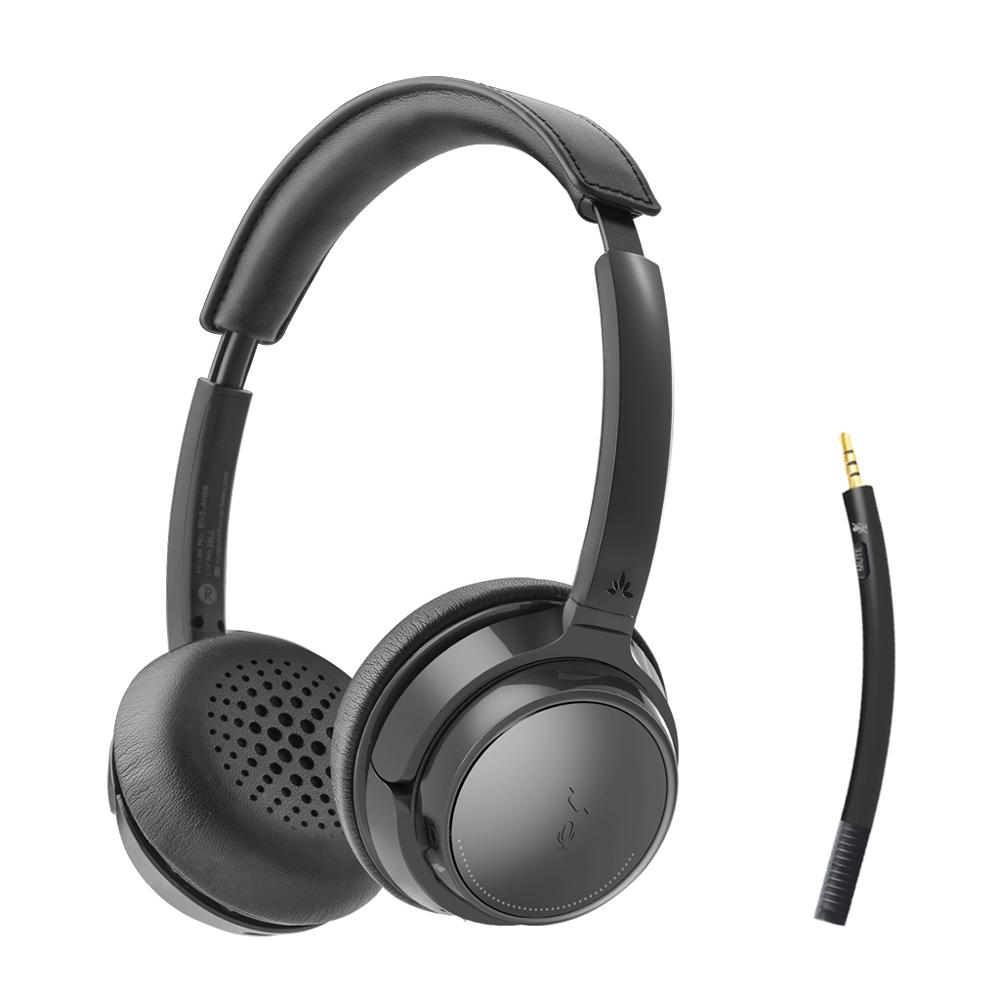 Avantree Ah6b Wireless Headset With Microphone For Computer Pc Laptop Cellphone Bluetooth On Ear Headphones For Hifi Music Headphones With Mic Headphones Overheadphone Headphone Aliexpress