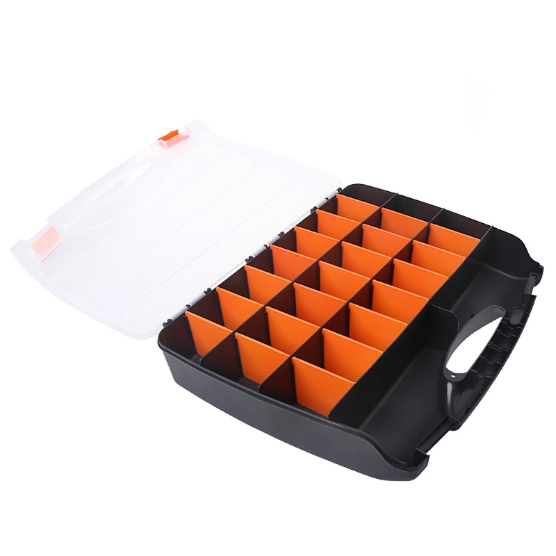 Large Hand Tools Storage Case Spanner Screwdriver Parts Hardware Organizer Box