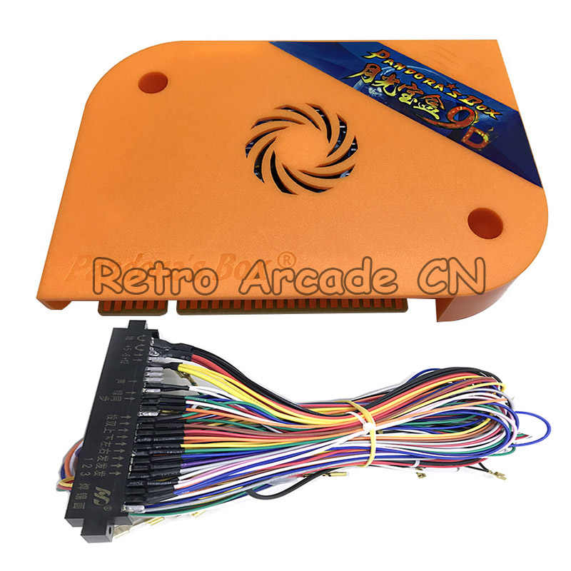 Pandora box 9 1500 in 1 upgrade to 9D 2222 in 1 jamma arcade version  motherboard VGA HDMI output for arcade game cabinet machine