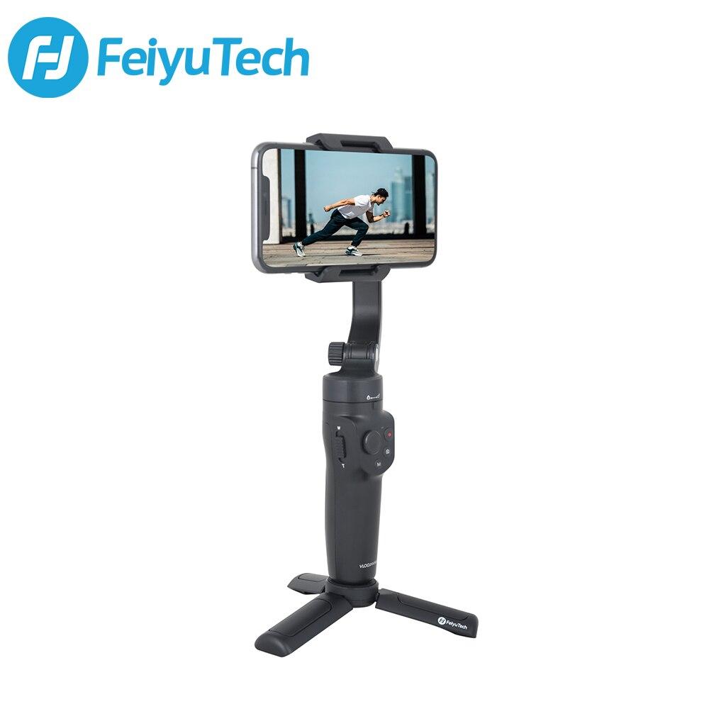 FeiyuTech Vlog карман 2 телефон 3-осевому гидростабилизатору ручной Stabiliz смартфон для iPhone 11 XS XR Samsung Huawei Xiaomi б/у