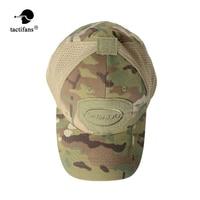 TACTIFANS Armee Camouflage Tactical Cap Outdoor Sport Wandern Laufen Baseball Caps Military Camo Hut Baumwolle Multicam Tropic
