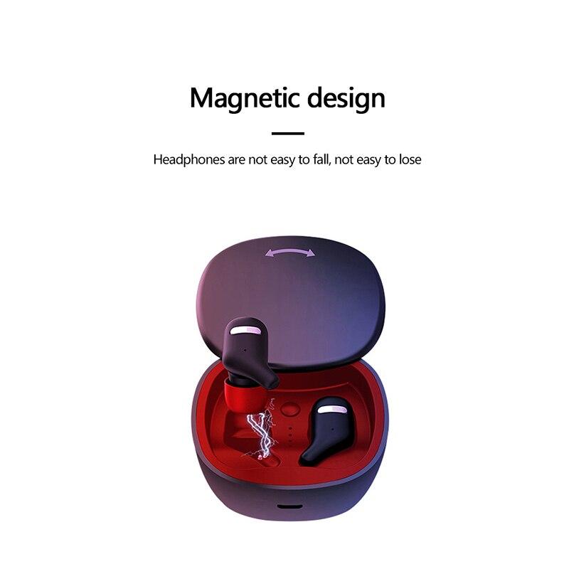 Mini TWS écouteurs véritable sans fil Bluetooth écouteur avec micro stéréo mains libres sport Bluetooth casque avec boîte de charge
