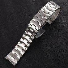 24mm pulseiras de relógio para panerai luminor marina pam 164 pulseira pesado 316l sólido aço inoxidável substituição cinta relógio tira