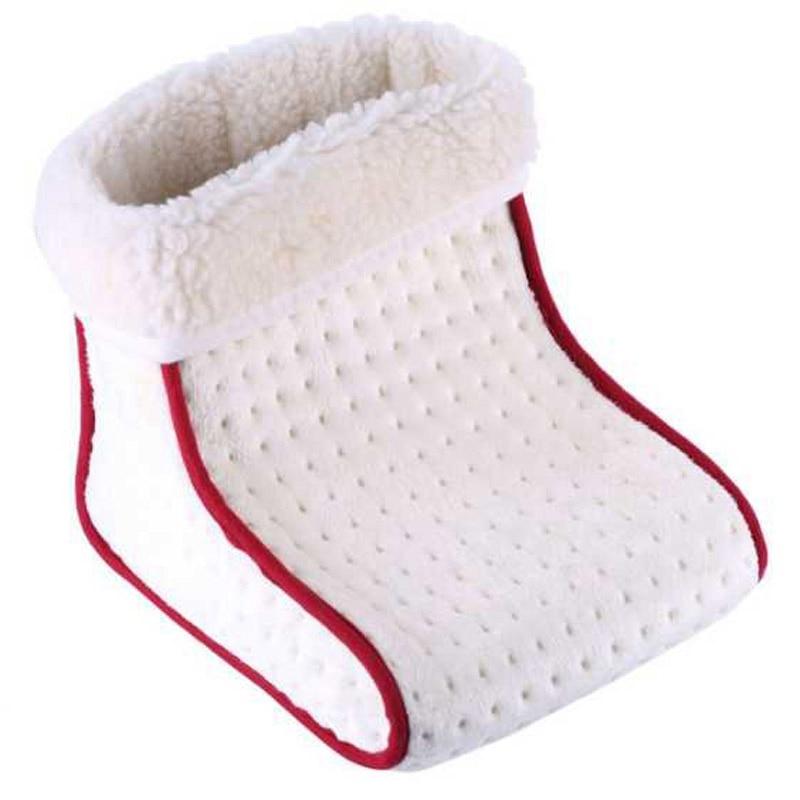 Electric Warm Heated Foot Heating Pad Warmer Washable Heat 5 Modes Heat Settings Foot Care Warmer Cushion Thermal Foot Warmer US