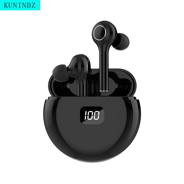 TWS Wireless Earphones Bluetooth 5.0 Headphones LED Display Earbuds Magnetic Charging Touch Control With Mic for Xiaomi iPhone