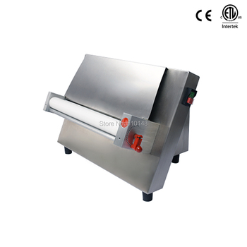 DR-3S Electric dough sheeter Commercial 18 inch single dough roller press machine pasta Stainless steel ETL