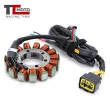 ignition coil fits st br500 br550 br600 backpack leaf blower free shipping magneto module stator parts p n 4282 400 1305 TCMOTO For Kawasaki VN900 Vulcan 900 Classic LT Custom Motorcycle Magneto Stator Ignition Coil l 21003-0053 Engine Parts Coil