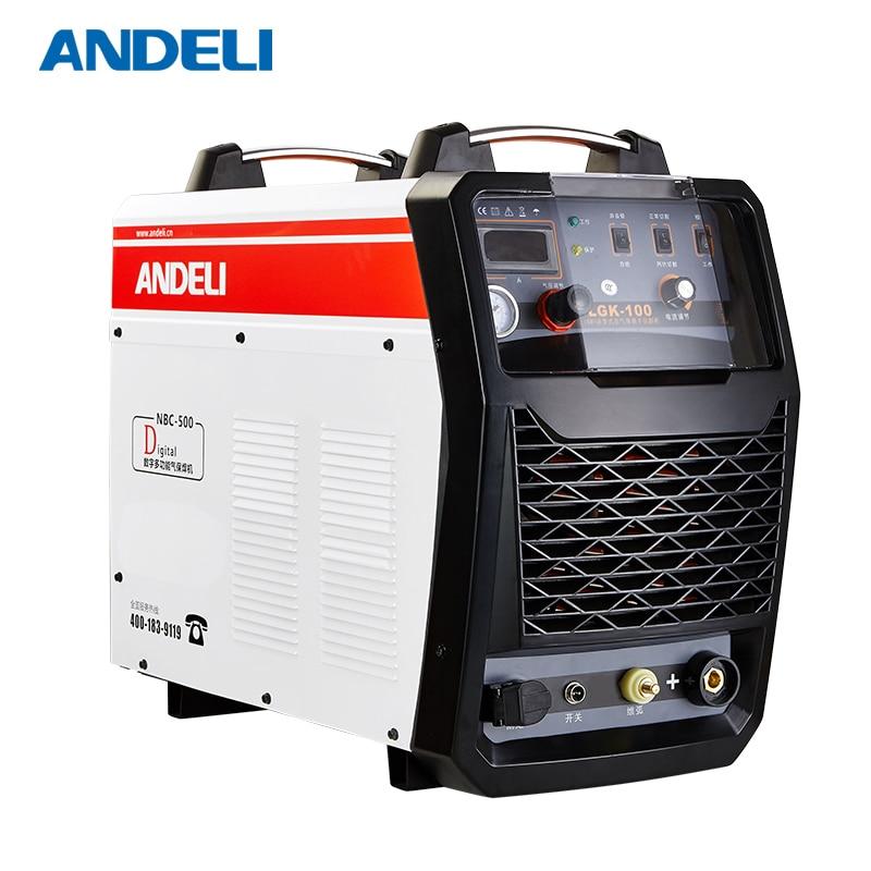 ANDELI Plasma Schneiden Maschine CUT-100 Cut Stahl Metall Rohr Drei Phase Plasma Cutter mit NC Tragbare CNC Plasma cutter
