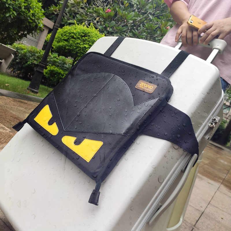 Pour 1 à 5 imperméable bébé portable pliable voyage transporteur pour enfant en bas âge valise siège bagages chaise voyage siège pour enfants