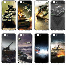 Soft TPU Silicone Mobile Phone Cases for Huawei P Smart P7 P8 P9 P10 P20 P30 2017 Lite Mini Plus Shell Hot New World Of Tanks(China)