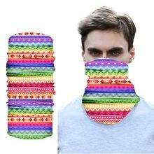 Бандана для велоспорта с цифровой печатью модный головной убор