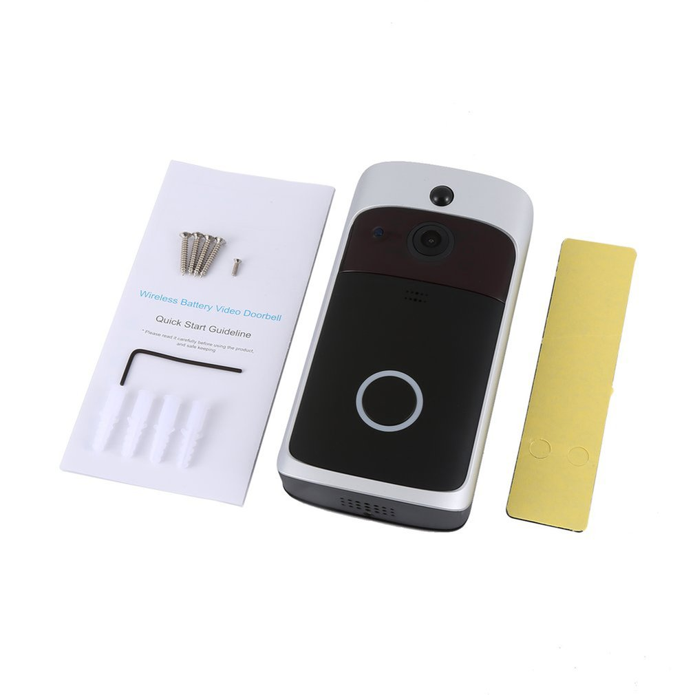 M3 WIFI Smart Video Doorbell Night Vision Wireless Portable Home Door Bell Cordless Phone Intercom Smart Home Parts
