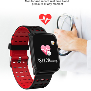 Image 4 - BINSSAW 2020 New T6 Smart Watch Fitness Tracke Band IP68 Waterproof Smart watch Men Women Clock for iPhone IOS  Android Phone