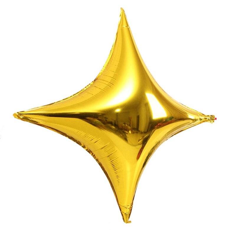 50 шт./лот, 10 дюймов, четыре звезды, воздушные шары, Мини звезды, воздушные шары, вечерние украшения на день рождения, свадебные украшения, вечерние принадлежности-5