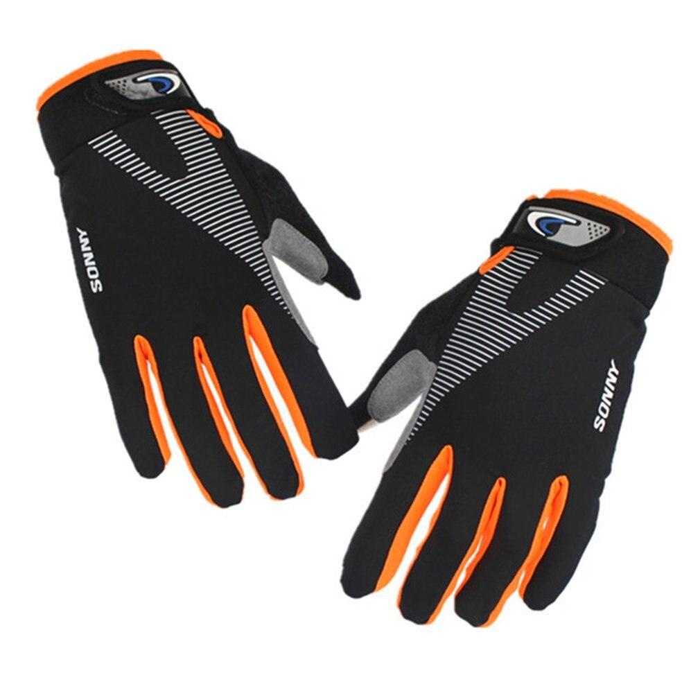 Перчатки для работы на открытом воздухе, зимние велосипедные перчатки для мужчин и женщин, теплые Нескользящие и сенсорные перчатки для экр...