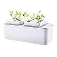 Intelligente Hydrokultur Pflanzer Soilless Anbau Ausrüstung Kindergarten Blume Pflanzen Box Automatische Wasser Absorbieren Blume Topf-in Anzuchttöpfe aus Heim und Garten bei