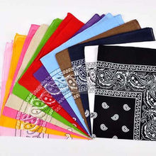 Unisex Cotton Head Bandana Hip-Hop Headwear Scarf Neck Wrist Wrap Band Magic Head Square Scarves Bracelet Scarf #LR1(China)