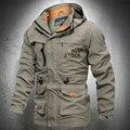 Ветровка мужская с карманами, уличная водонепроницаемая куртка, легкая модная верхняя одежда для походов, весна-осень